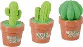 Brunnen Spitzer mit Radiergummi Kaktus