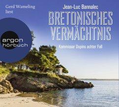 Bretonisches Vermächtnis / Kommissar Dupin Bd.8 (8 Audio-CDs) - Bannalec, Jean-Luc