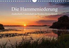 Die Hammeniederung - Zauberhafte Landschaft in Norden Deutschlands (Wandkalender 2020 DIN A4 quer)