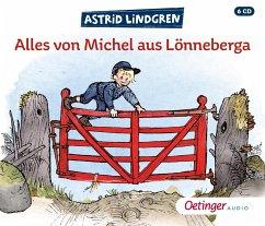 Alles von Michel aus Lönneberga, 6 Audio-CD - Lindgren, Astrid