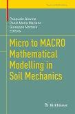 Micro to MACRO Mathematical Modelling in Soil Mechanics (eBook, PDF)