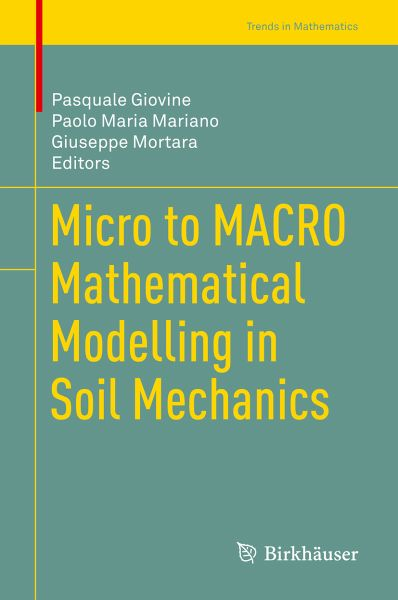 Micro to MACRO Mathematical Modelling in Soil Mechanics (eBook, PDF)