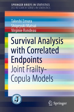 Survival Analysis with Correlated Endpoints (eBook, PDF) - Emura, Takeshi; Matsui, Shigeyuki; Rondeau, Virginie