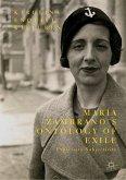 María Zambrano's Ontology of Exile (eBook, PDF)