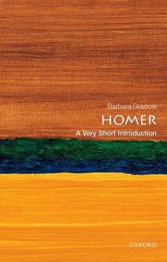 Homer: A Very Short Introduction (eBook, PDF) - Graziosi, Barbara