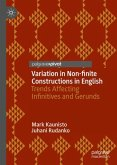 Variation in Non-finite Constructions in English