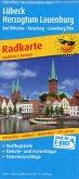 PublicPress Radkarte Lübeck - Herzogtum Lauenburg, Bad Oldesloe - Ratzeburg - Lauenburg/Elbe