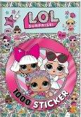 L.O.L. Surprise! 1000 Sticker Buch