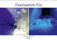 Faszination Eis. Eiswelten in Saas Fee (Wandkalender 2020 DIN A3 quer)