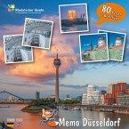 FindeFuxx Memo Düsseldorf, m. 1 Buch