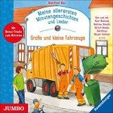 Meine allerersten Minutengeschichten und Lieder - Große und kleine Fahrzeuge, 1 Audio-CD