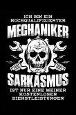 Sarkasmus Kostenlos: Notizbuch / Notizheft Für Mechaniker Kfz-Mechaniker Kfz-Mechatroniker Schrauber A5 (6x9in) Dotted Punktraster