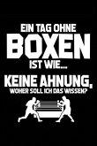 Tag Ohne Boxen? Unmöglich!: Notizbuch / Notizheft Für Boxsport-Fan Boxen Sport Box-Sport Boxer A5 (6x9in) Dotted Punktraster