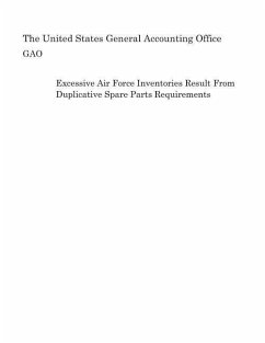 Excessive Air Force Inventories Result from Duplicative Spare Parts Requirements - Gao, United States General Accounting of