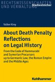 About Death Penalty. Reflections on Legal History (eBook, PDF)