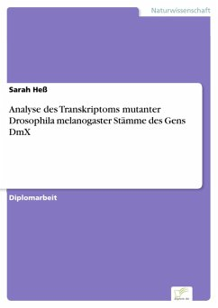 Analyse des Transkriptoms mutanter Drosophila melanogaster Stämme des Gens DmX (eBook, PDF) - Heß, Sarah