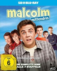 Malcolm mittendrin - Die komplette Serie (Staffel 1-7) BLU-RAY Box - Malcolm Mittendrin