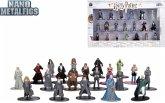 Dickie Toys 253185000 - Harry Potter, Sammelfiguren, 20-Pack, Metall