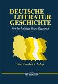 Deutsche Literaturgeschichte (eBook, PDF)