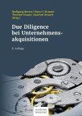 Due Diligence bei Unternehmensakquisitionen (eBook, PDF)