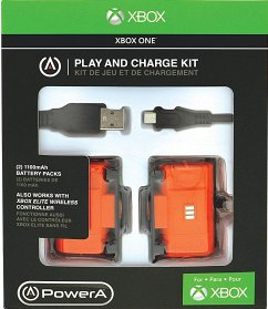 PowerA PLAY AND CHARGE KIT, Zubehör für Xbox One