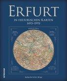 Erfurt in historischen Karten 1493 bis 1993 (Mängelexemplar)