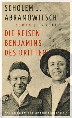 Die Reisen Benjamins des Dritten - Abramowitsch, Scholem J.