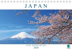 Japan: eine Entdeckung (Tischkalender 2020 DIN A5 quer) - Calvendo, K. A.