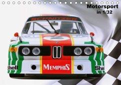 Motorsport in 1/32 (Tischkalender 2020 DIN A5 quer)