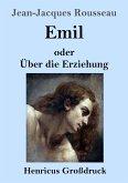 Emil oder Über die Erziehung (Großdruck)