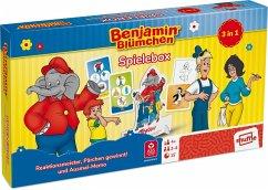 Benjamin Blümchen - Spielebox (Spielkarten)