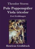 Pole Poppenspäler / Viola tricolor (Großdruck)