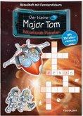 Der kleine Major Tom Rätselheft mit Fensterstickern: Planeten