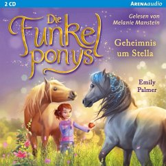 Geheimnis um Stella / Die Funkelponys Bd.2 (2 Audio-CDs) - Palmer, Emily