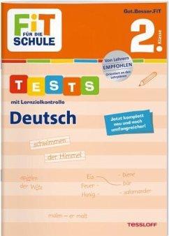 FiT FÜR DIE SCHULE. Tests mit Lernzielkontrolle. Deutsch 2. Klasse - Meyer, Julia