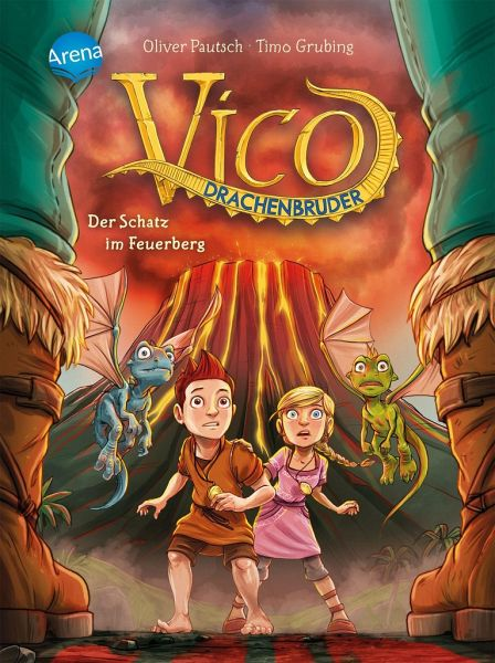 Buch-Reihe Vico Drachenbruder