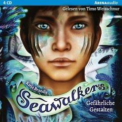 Gefährliche Gestalten / Seawalkers Bd.1 (4 Audio-CDs) - Brandis, Katja