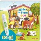 BOOKii® Zähle die Tiere von 1 bis 10