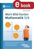 Wort-Bild-Karten Mathematik Klassen 5-6 (eBook, PDF)