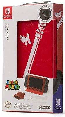 PowerA Hybrid Cover, Super Mario, Schutzhülle für Nintendo Switch
