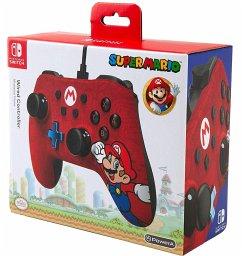 PowerA Wired Controller, Super Mario-Design, für Nintendo Switch