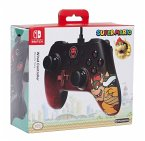 PowerA Wired Controller, Super Mario Bowser-Design, für Nintendo Switch