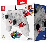 PowerA Wired Controller, Super Mario Cappy Edition, für Nintendo Switch, weiß