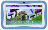 Waiky Power Tab Kids blau Kinder Tablet 7 Android