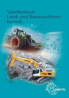 Tabellenbuch Land- und Baumaschinentechnik - Fehr, Andreas;Fleischlin, Stefan;Friese-Tapmeyer, Joachim