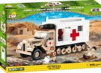 COBI 2518 - Small Army, Ford V3000S Maultier Ambulance, Kostruktionsspielzeug, 535 Teile