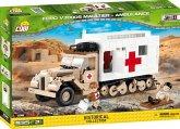 COBI 2518 - Small Army, Ford V3000S Maultier Ambulance, Kostruktionsspielzeug, 535 Teile