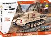 COBI Small Army 3035 - Panther Warsaw Uprising, Panzer, Konstruktionsbausatz, 575 Teile