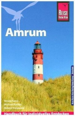 Reise Know-How Reiseführer Amrum - Funck, Nicole; Narten, Michael; Hanewald, Roland