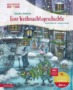 Eine Weihnachtsgeschichte - Dickens, Charles;Albrecht, Henrik